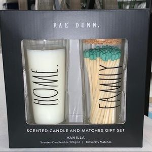 Rae Dunn Let Candles /Matches set